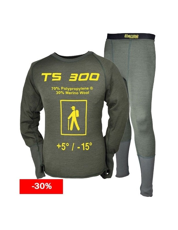 Bielizna termalna THERMO FUNCTION TS 300 komplet DO 6XL!