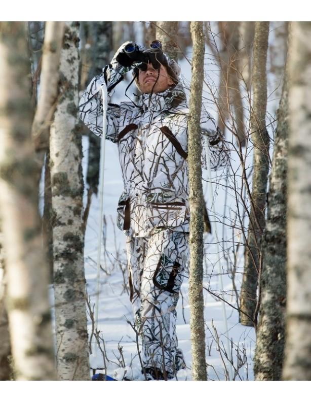 Zimowe rękawice Newis kamuflaż Snow Camo