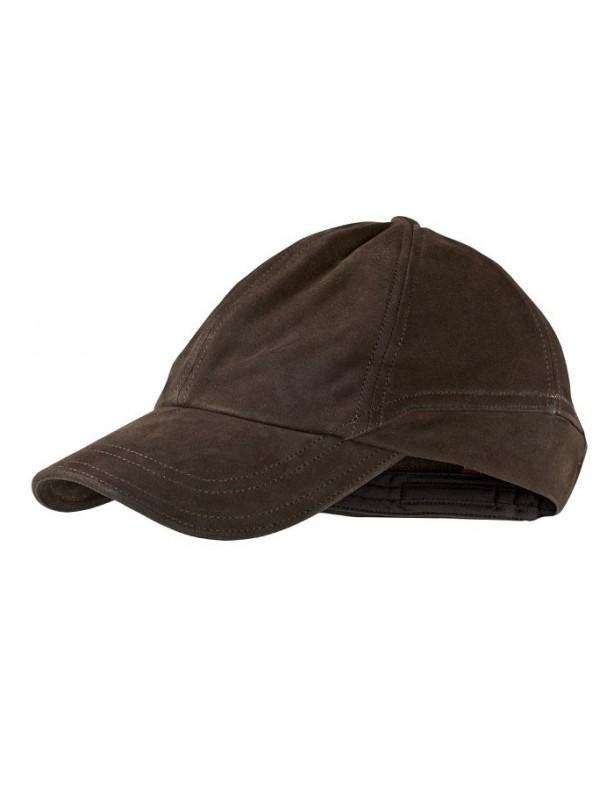 Ultimate Leather - skórzana czapka z daszkiem