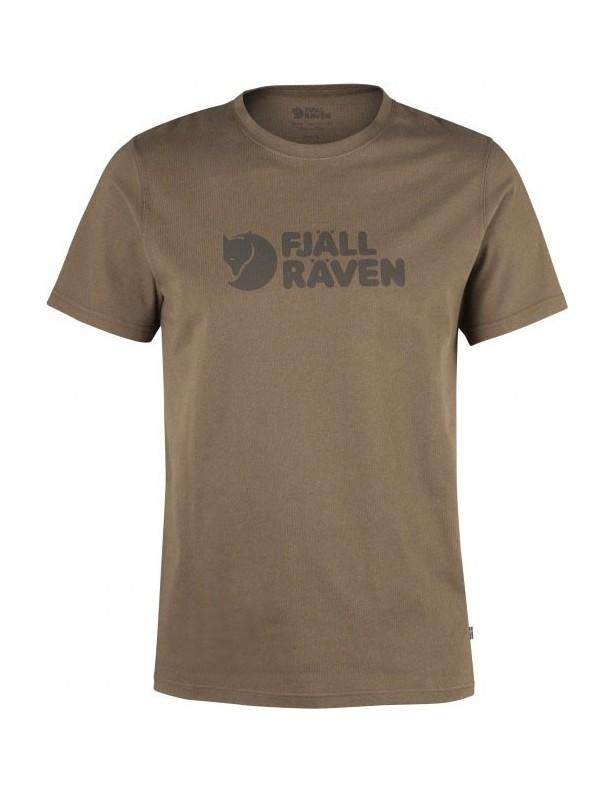 Logo T-Shirt  tarmac - koszulka Fjallraven