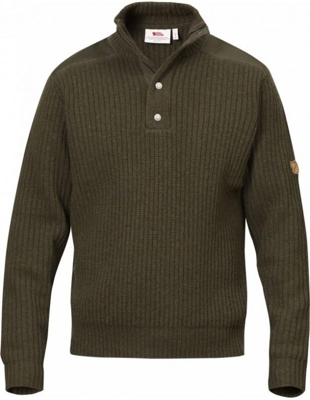 Varmland T-neck - sweter wełniany Fjallraven ROZM XXL