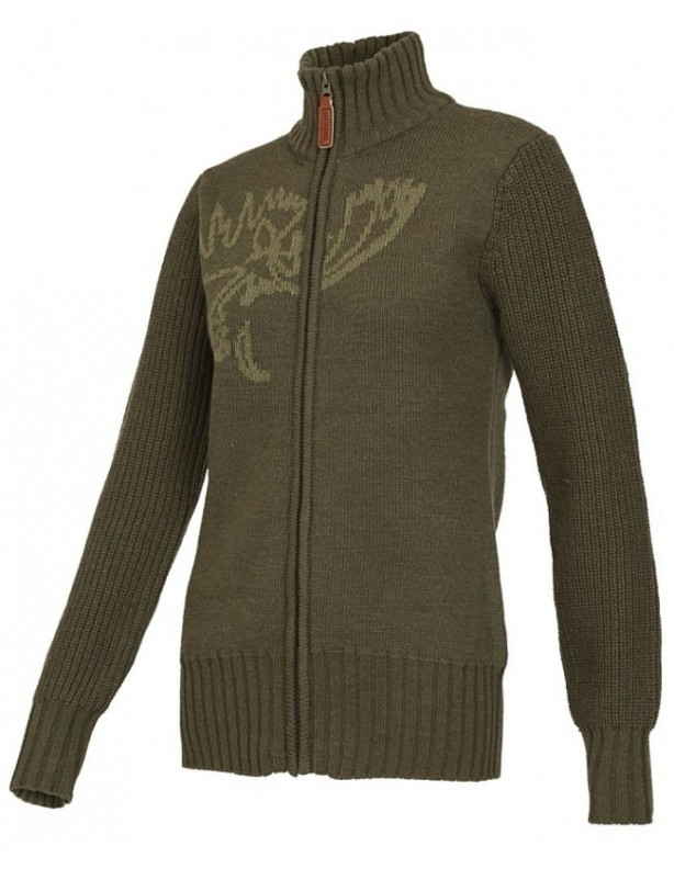 Anet Cardigan - sweter rozpinany zielony ROZM XXS, XS