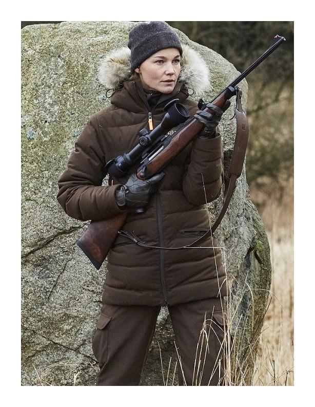 Expedition Down Lady - zimowa kurtka z puchem Windstopper