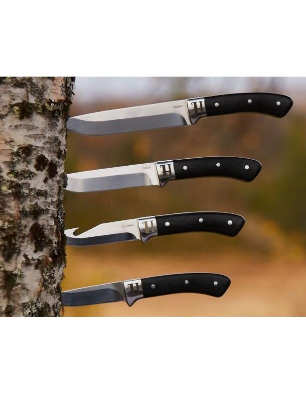 Nóż Harkila Glomma ze stałą klingą ostrze 10 cm