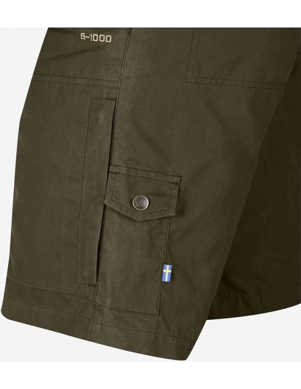 Karl Pro shorts dark olive - szorty Fjallraven z G-1000®