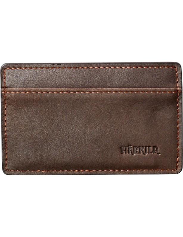 Etui na karty kredytowe Harkila skóra woskowana