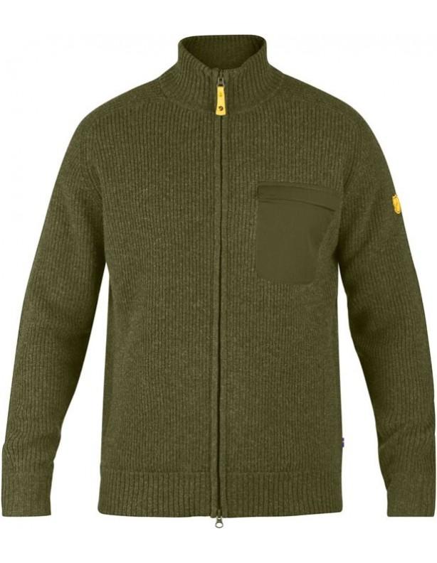 Sormland Zip cardigan - sweter wełniany Fjallraven