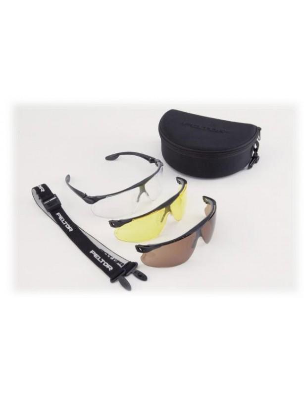 Zestaw okularów ochronnych Maxim Ballistic Utility Pack