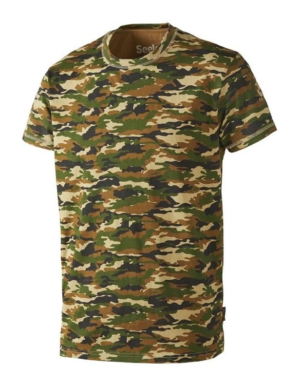 Speckled Camo - bawełniana koszulka kamuflaż TYLKO ROZMIAR L