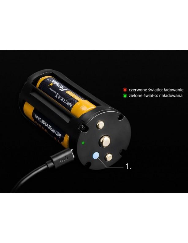 Latarka diodowa Fenix TK75 - 5100 lumenów ładowanie USB
