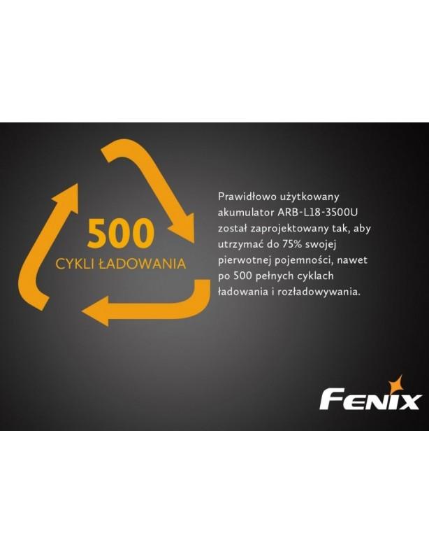 Akumulator Fenix ARB-L18U (18650 3500 mAh) ładowanie micro USB