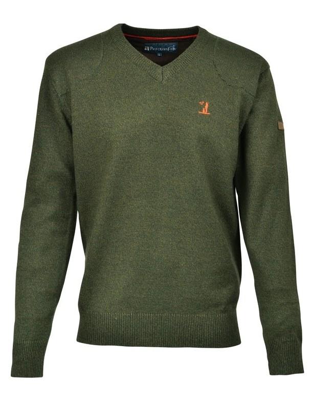 Sweter Percussion z Logo 70% akryl, 30% wełna