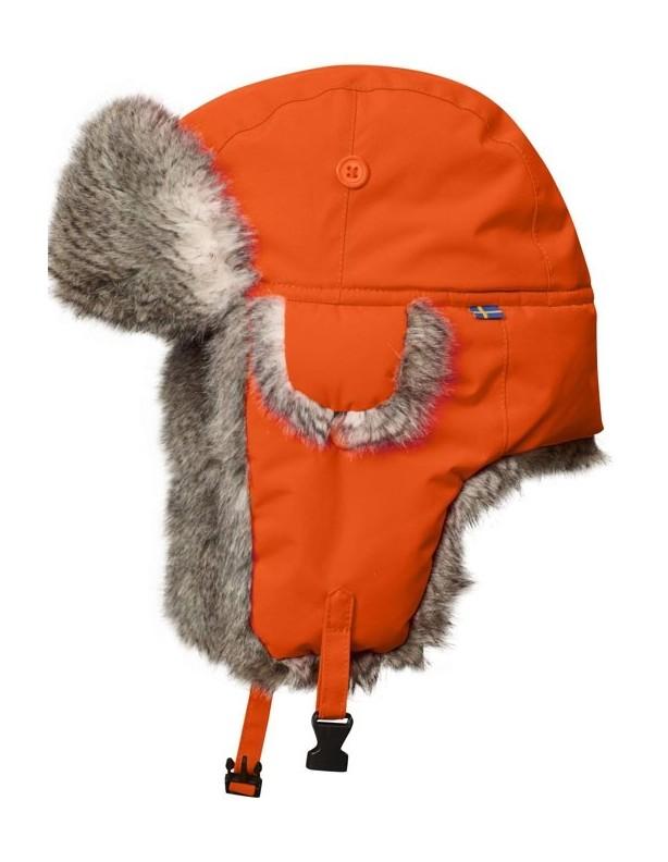 Varmland Heater safety orange - Czapka zimowa Fjallraven