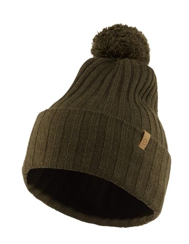 Byron Pom - czapka zimowa Fjallraven 100% wełna