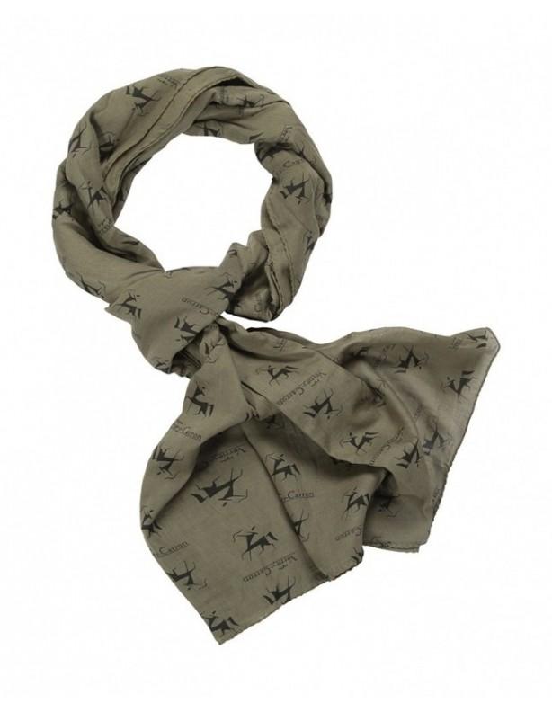 Bawełniany szalik/ chusta pod szyję/ apaszka dwa kolory!