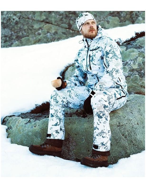 Spodnie Superior Snow - zimowy kamuflaż membrana Rain-Stop®