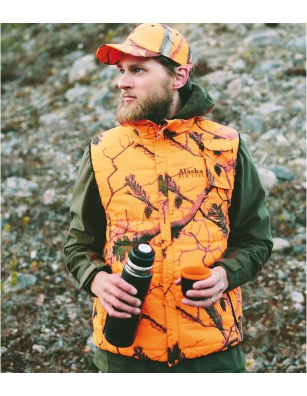 Tundra BlindMax orange - dwustronna ciepła kamizelka