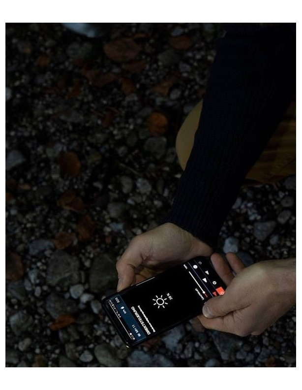 Latarka czołowa Ledlenser MH11 sterowanie telefonem