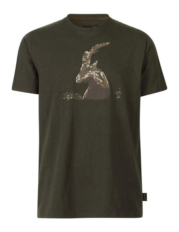 Flint T-shirt kolor brązowy Seeland ROZMIAR M