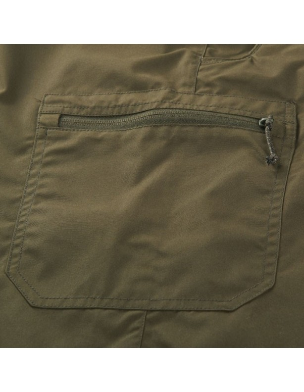 Alvis - lekko woskowane spodnie willow green