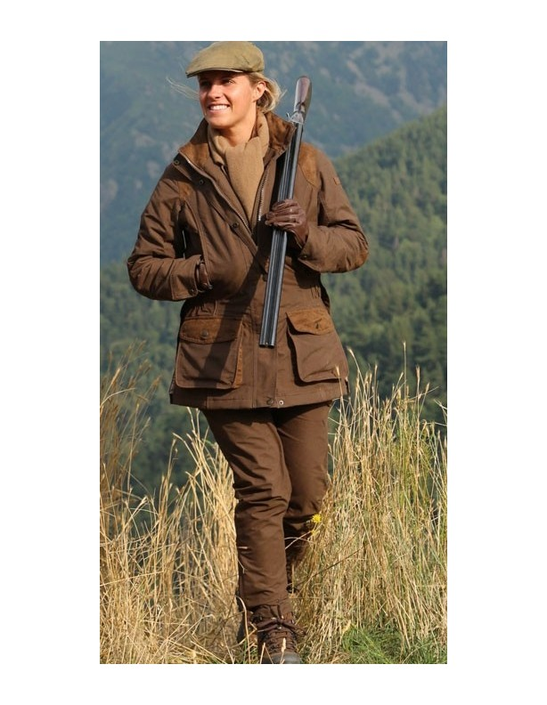 Normandie - lekko ocieplana kurtka myśliwska dla Dian