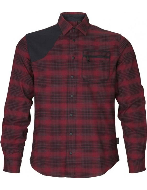 Terrain red check - koszula myśliwska ROZMIAR L
