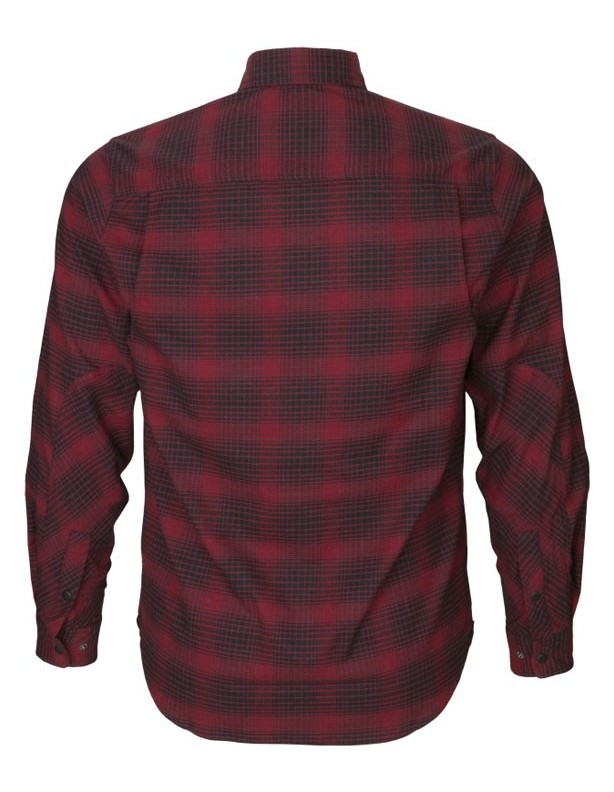 Terrain red check - koszula myśliwska
