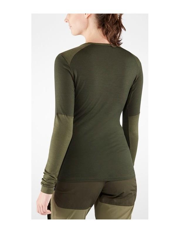 Keb Wool T-shirt W - wełniana koszulka damska Fjallraven