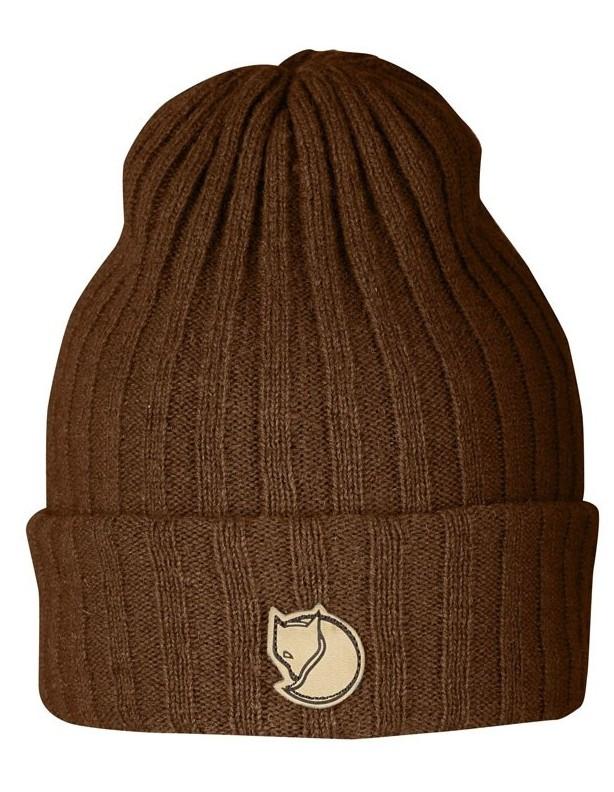 Byron hat chesnut - wełniana czapka Fjallraven