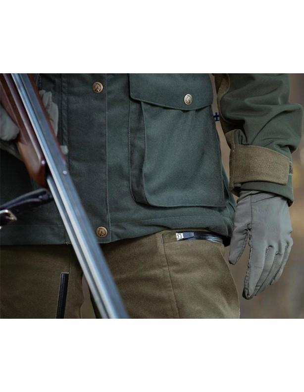 Hirvas Green - spodnie myśliwskie całoroczne membrana ADS