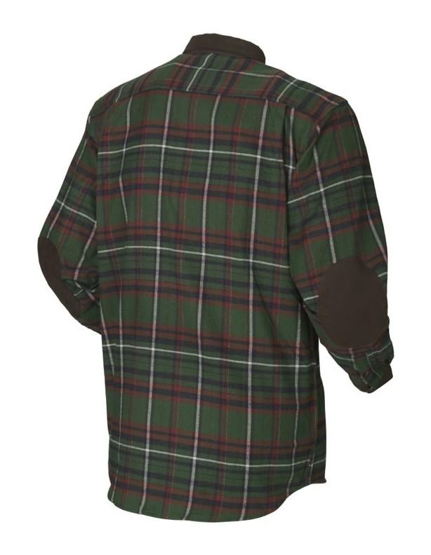 Pajala green - ciepła flanelowa koszula rozmiar L!