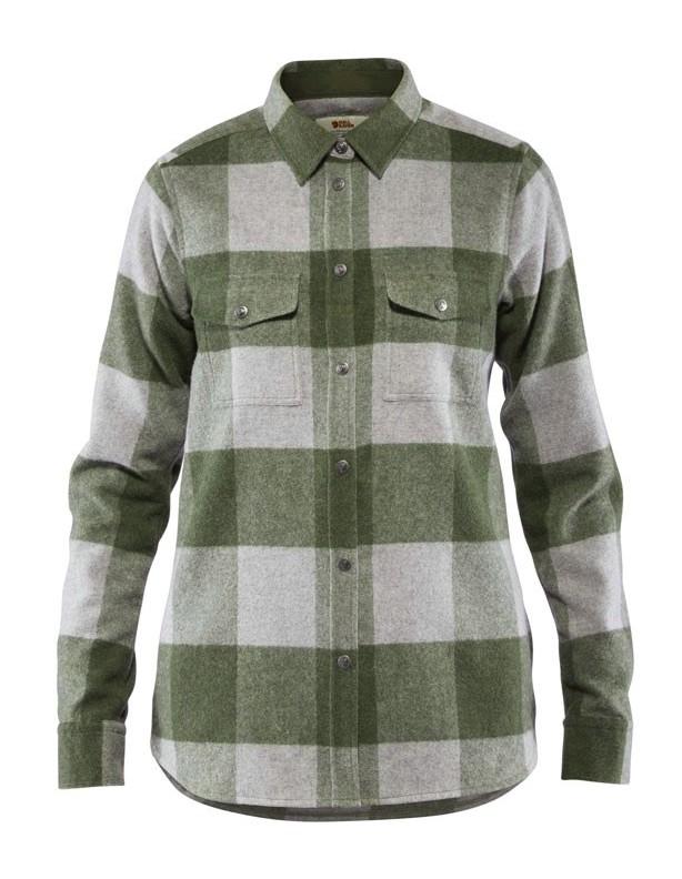 Canada - ciepła koszula damska krój comfort 65% wełna