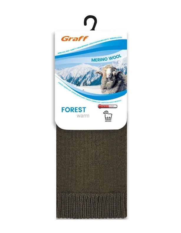 Skarpety zimowe Forest warm 55% wełny z merynosów
