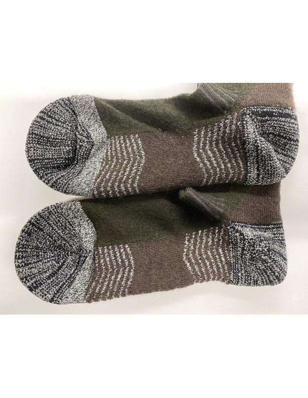 Eton crew midweight sock - ciepłe skarpety 57% wełna