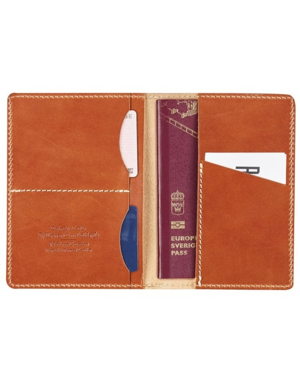 Leather Passport cover - skórzane etui na paszport