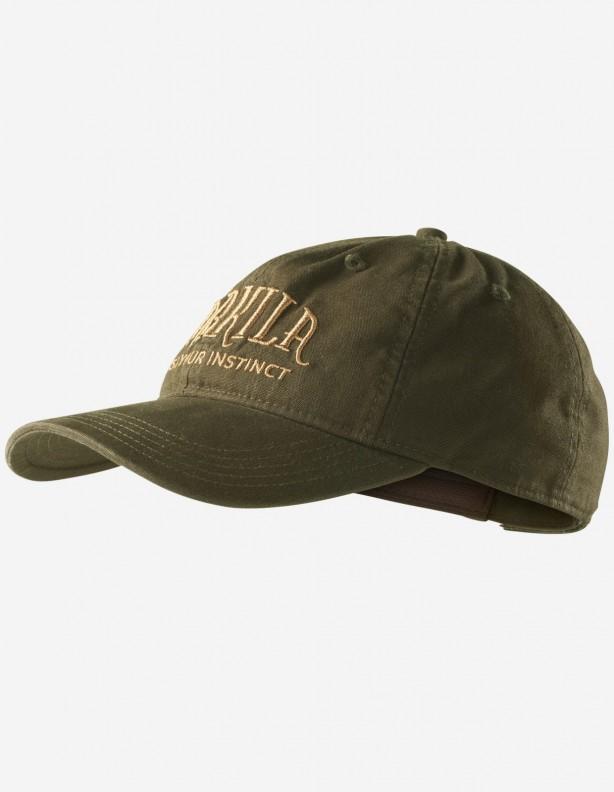 Modi green - bawełniana czapka z daszkiem