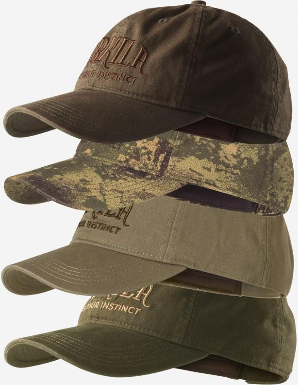 Modi khaki - bawełniana czapka z daszkiem