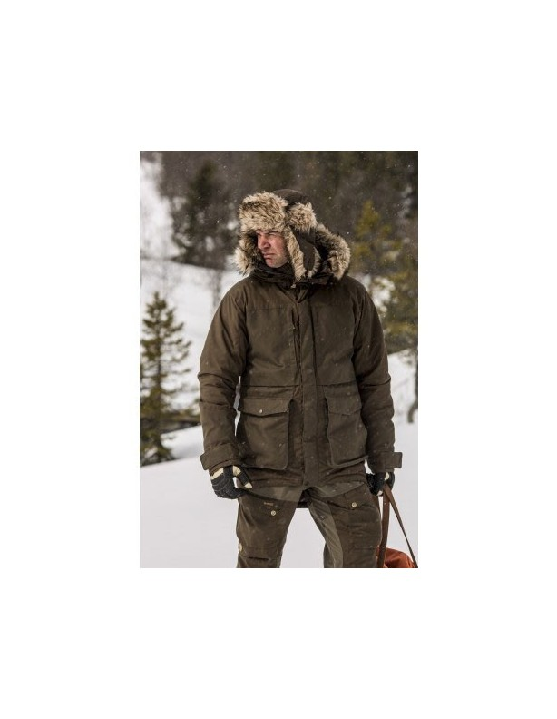 Nordic Heater - bardzo ciepła czapka uszatka Fjallraven