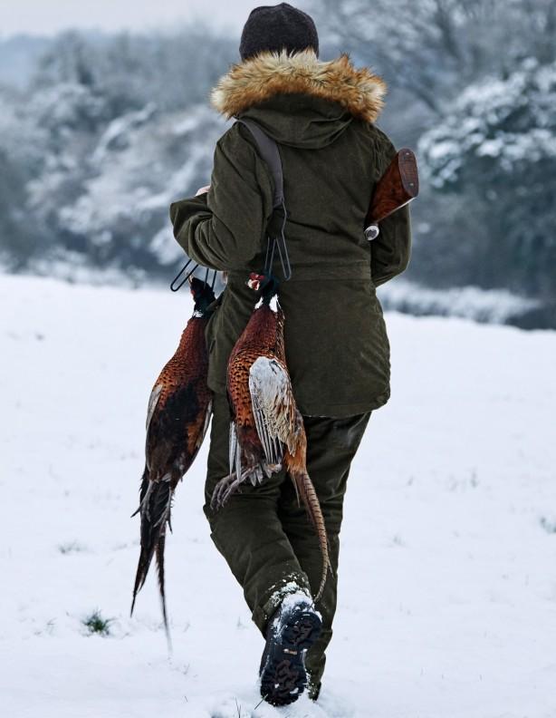 North Lady - lekko ocieplane spodnie zimowe dla Dian