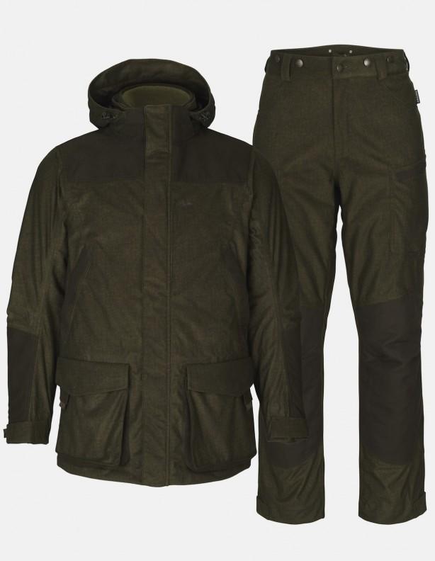 North 3 w 1zestaw - kurtka z podpinką polarową i ocieplane spodnie