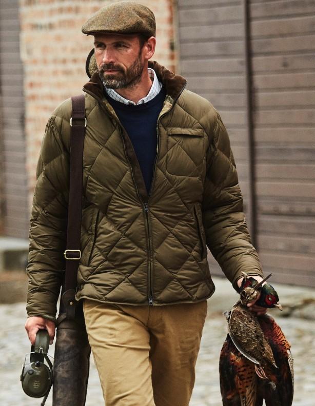 Berghem - ocieplana kurtka w klasycznym stylu ROZM 52
