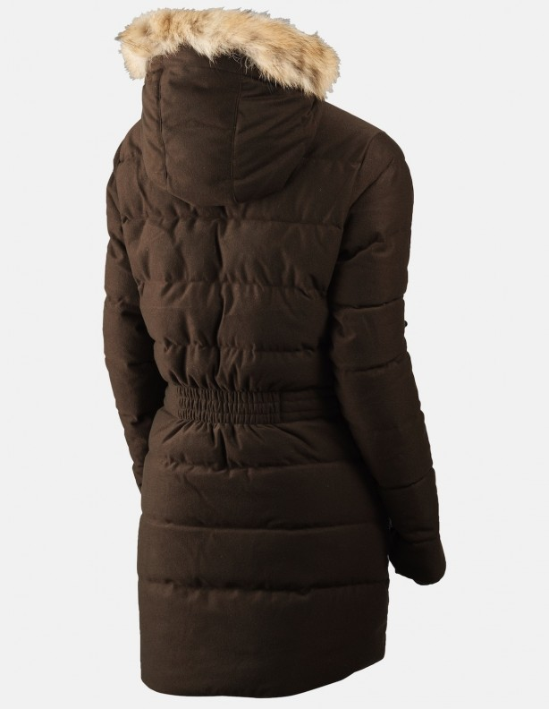 Expedition Down Lady - zimowa kurtka z puchem Windstopper