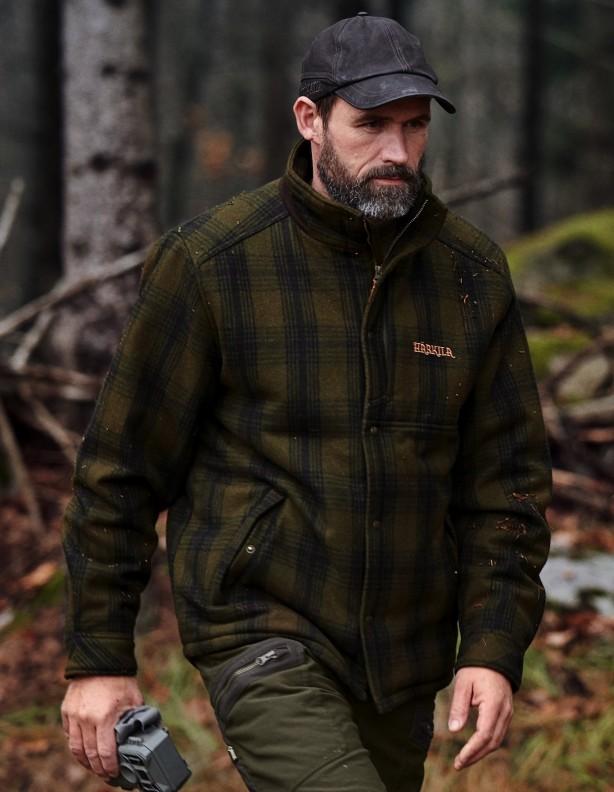 Fjalar - jesienno - zimowa kurtka z wysokim kołnierzem