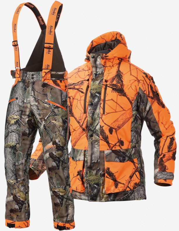 Tundra BlindMax Orange ocieplany zestaw Rain Stop®