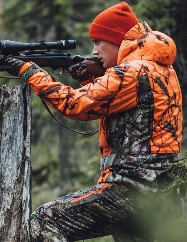 Tundra BlindMax Orange - kurtka ocieplana membrana Rain-Stop®