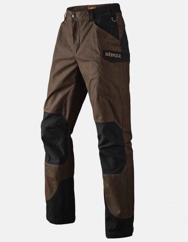 Gevar brown -  lekkie spodnie na lato