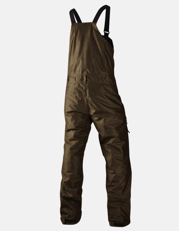 Arctic - zimowe ocieplane spodnie z szelkami Seetex®