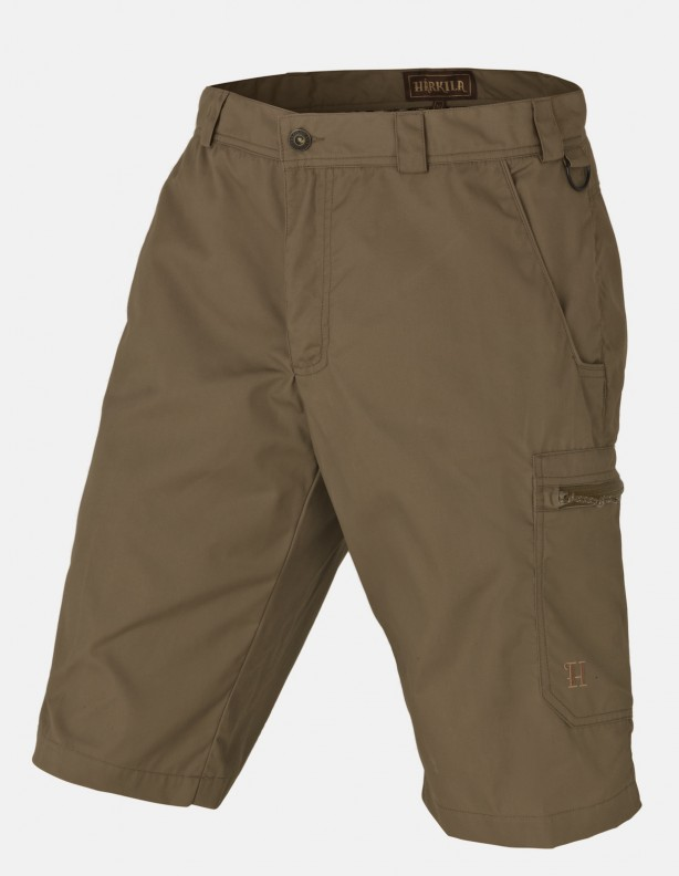 Alvis - woskowane Shorty light khaki