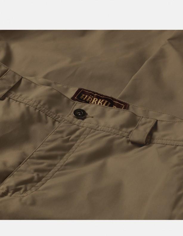 Alvis - woskowane, mocne szorty light khaki