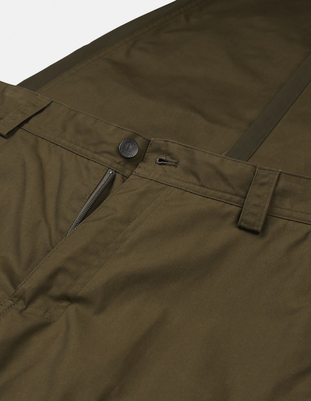 Asmund dark olive - spodnie letnie